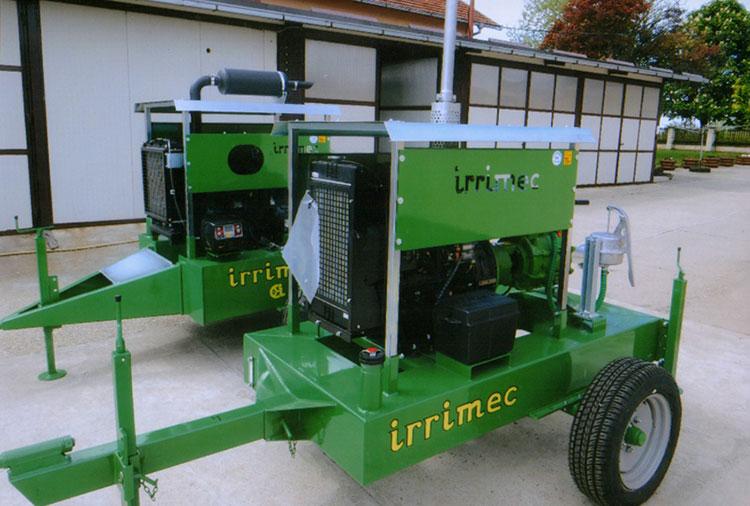 -Agregat (moto-dizel pumpa) za navodnjavanje IRRIMEC