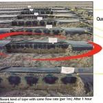 Sistem kap po kap QUEEN GIL - prostor između traka